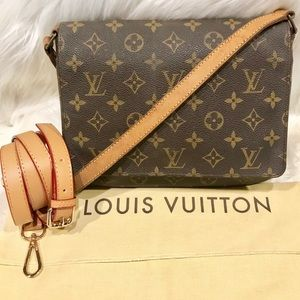 Authentic Louis Vuitton Musette Salsa PM #5.8P